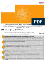 eCircle Social Media Study Summary of Results (Part 1 and 2)