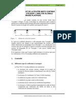 O13_Exemple_5_Poutre Mixte Continue de 3 Travées – Section de Classe 2 - Analyse Globale