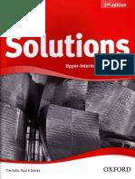 Solutions Upper-Intermediate 2ed Workbook