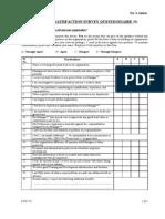 ESS Questionnaire Staff
