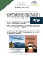 HOJA DE PRÁCTICA Nº 11