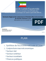 PRESENTATION  CONJONCTURE G.E NOV 2020