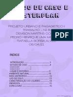 Estudos de Caso e Masterplan