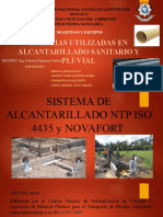 G3 EXP TUBERIAS UTILIZADAS EN ALCANTARILLADO SANITARIO Y PLUVIAL
