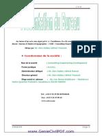 Rapport Du Stage Chantier Assainissement Et Voirie