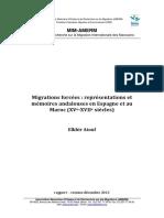Migrations Religieuses Lexemple Des Andalous Dans Lhistoire Du Maroc Identités Mémoires Et Représentations 1492 1614