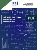 100 questões de MAT
