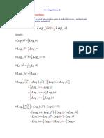 04 Propiedades de Logaritmo - Cuarta
