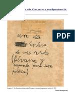Un Día Entero de Mi Vida. Citas, Envíos y Transfiguraciones de Eugenio Dittborn