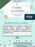 5 Términos y Expresiones Algebraicas