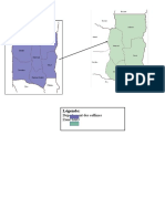 Cartographie de la Zone SAO (Département des Collines Bénin)