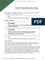 BCU 122 - Calibração do Controle do Engate - tm804854 __ Service ADVISOR™