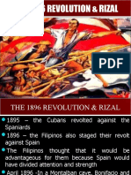 1896 Revolution, End of Exile in Dapitan to Arrest, Trial and Martyrdom