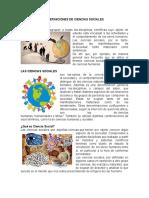 3 Definiciones de Ciencias Sociales y Ciencias