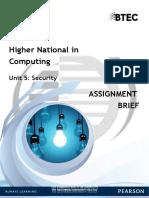 Unit 5 Assignment (Spring 2021)