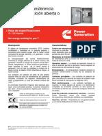 GTEC Tablero de Transferencia Automática