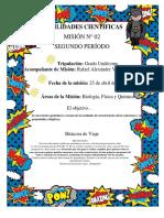 Misión 2 Segundo Período Undécimo Nodos Temáticos 2021