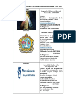 Directorio Comunidades Religiosas Diocesis