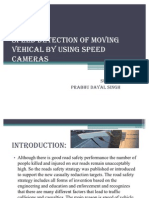 SPEED DETECTION OF MOVINGVEHICAL BY USING SPEEDCAMERAS