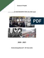 Deutsch Projekt