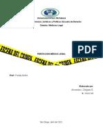 Peritacion Medico Legal
