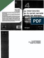 Carballeda - Cuadernos de Margen - La Intervencion en lo social narrada desde los ateneos