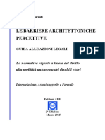 2015 03 (Ed. 02) S. Salvati - Le Barriere Architettoniche Percettive (Guida alle azioni Legali)