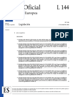 Decisión de Ejecución de la Comisión (UE) N° 2021/682.