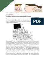 MÁXIMAS Y MÍNIMAS PARA LA ESTIMULACIÓN DE LA LECTURA