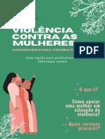 Cartilha Violência Contra as Mulheres_Conhecer para Combater UFABC e Casa Helenira Preta