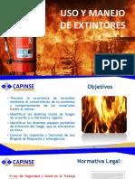 Curso de Extintores