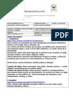 GUIA DE APRENDIZAJE No. 2 CLASES DE CUENTOS, ESPAÑOL- SÉPTIMO