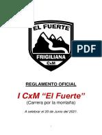 Reglamento Oficial I Cxm El Fuerte