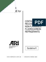 AHRI Guideline K-2004