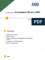 Présentation PPT Master AMO FSJEST