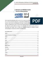 Art Culinaire Mediterranee Bibliographie Bibliotheque Institut Du Monde Arabe