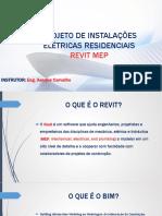 Projeto de Instalações Elétricas – Revit Mep