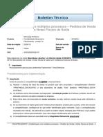 CTB-FAT - Contabilização com múltiplos processos – Pedidos de Venda e Notas Fiscais de Saída