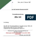 ZDv 3_2 Formaldienst