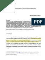 Linguas ameaçadas - Francoprovençal
