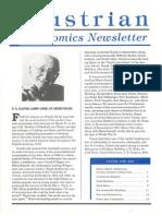 Austrian Economics Newsletter Spring 1993