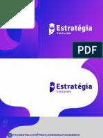 Estratégia Curso de Portugues Em Exercicios CAD 6