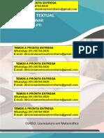 """""""Preparação Para Concurso Público Para o Cargo de Professor Da Educação Básica Anos Finais Do Ensino Fundamental e Ensino Médio"""" Zap (91) 98764-0830"""