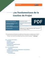 -Script de synthèse MOOC GdP- s1 - Fondamentaux de la gestion de projet -Public-