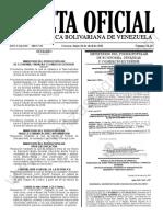 Gaceta Oficial N°42.113