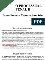03 Procedimento Comum Sumário