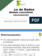 3 Banco de Dados 09-10 Relacionamentos