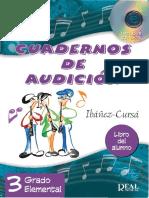 CUADERNOS DE AUDICIÓN vol 3