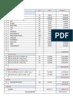Exercice - Calcul OPCVM SAIDA 2019
