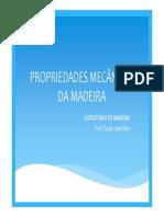 2 - Propriedades Mecânicas Da Madeira